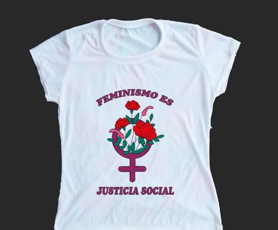 Remera Feminismo Es Justicia Social