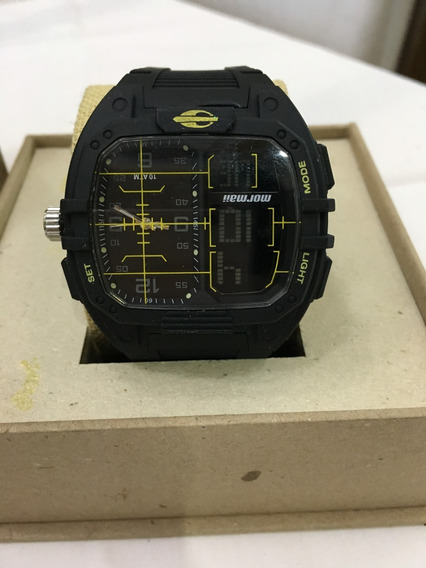 Relógio De Pulso Mormaii 3484a Preto Digital Masculino 10atm
