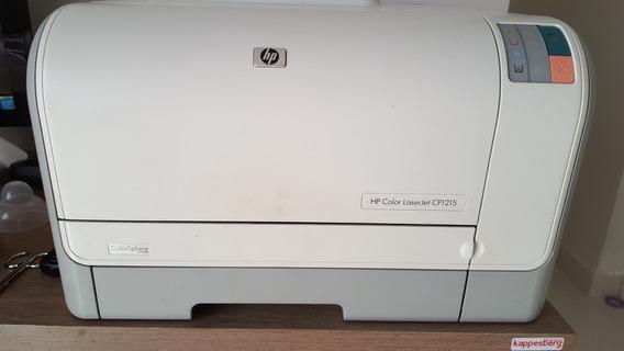 Impressora Hp Color Laser Jet Cp1215 - Usada