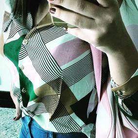 Roupa Feminina Camisa Social M/a Clothes