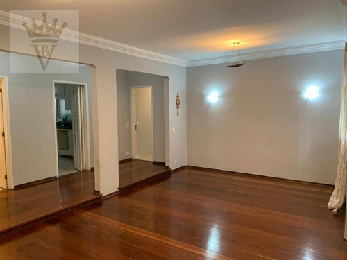 Apartamento Com 3 Dormitórios À Venda, 124 M² Por R$ 1.060.000,00 - Moema - São Paulo/sp - Ap5061