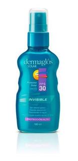 Dermaglós Solar Fps30 Invisible Spray Continuo Spray Invisib