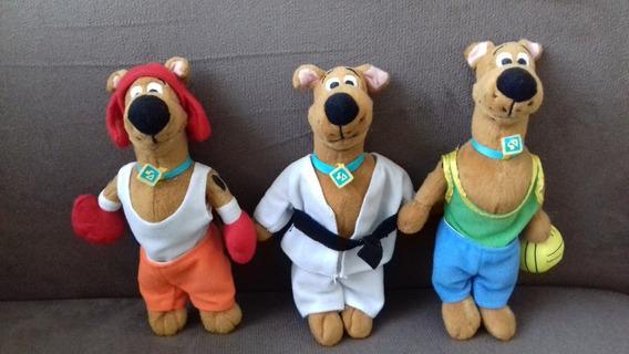Bonecos De Pelúcia Scooby Doo Raro Coleção Completa