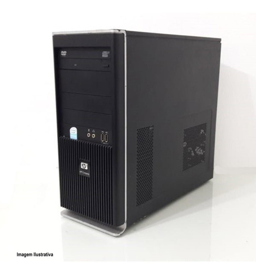Computador Torre Hp Compaq Dx2295 Core 2 Duo 4gb 120ssd