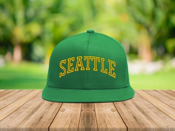 Gorra Plana Basket Nba Seattle Supersonics (002)