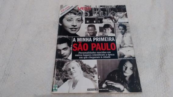Revista Veja São Paulo 4 Pelé Fafá Belém Zezé Camargo K835
