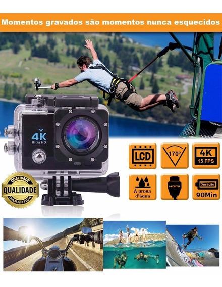 Action Cam Wifi Câmera Capacete Esporte Mergulho Hd