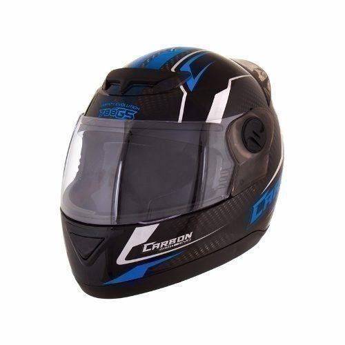 Capacete Moto Preto/ Azul Evolution G5 58 40594