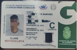 Licencia Guerrero