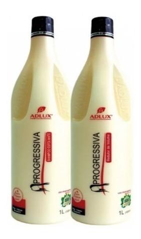 Progressiva Sem Formol + Shampoo Adlux Validade Longa Ativa Produto Natural Orgânico Super Alisamento Escova Original