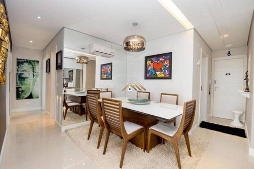 Imagem 1 de 21 de Lindo Apartamento 3 Dormitórios No Coração Do Água Verde - Ap0497