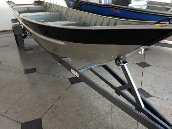 Barco De Aluminio Pety Brasil 600s