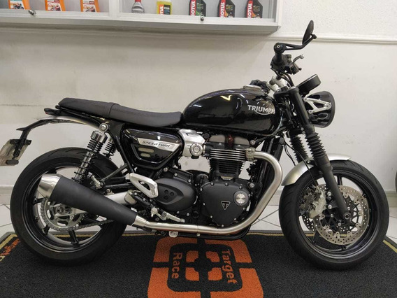 Triumph Speed Twin 1200 Preta 2019 - Target Race