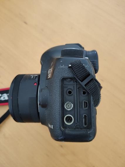 Canon 5d Mark Iii Com Lente 1.8