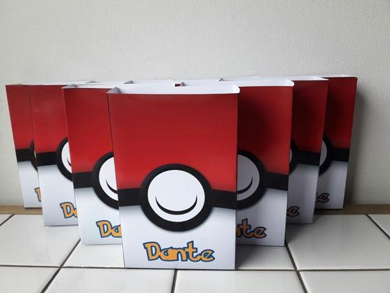 10 Bolsitas Cumpleaños Pokemon
