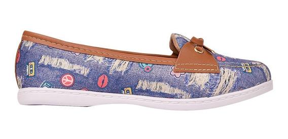 Mocassim Sapato Feminina Chiquiteira Chiqui/90118