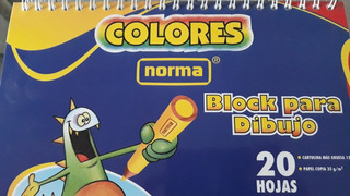Block Para Dibujo Norma Dr 20 Hjs