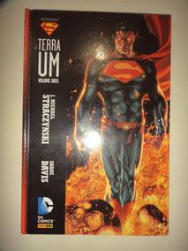 Superman Terra Um Volume 2 Capa Dura Panini Frete Gratis