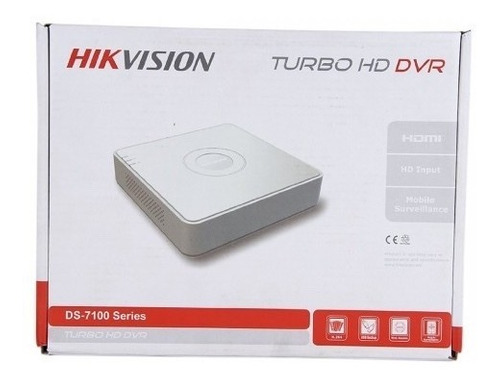 Dvr Hikvision Turbo Hd 16 Canales Ds-7116hghi-f1