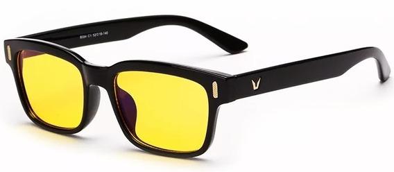 Óculos Vision Noturno Lente Amarela Night Drive