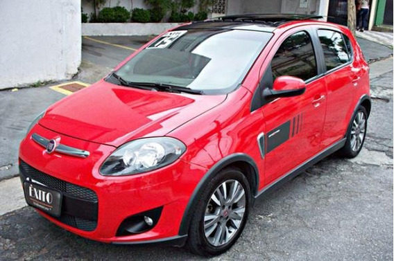 Fiat Palio Sporting 1.6 Flex Manual Vermelho 2015