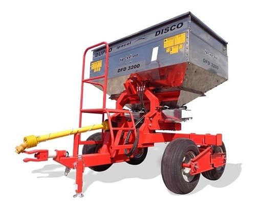 Fertilizadora Abonadora De Tiro Tandem Ipacol Inox 3200 Lts