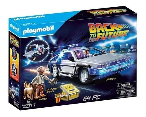 Playmobil Auto Volver Al Futuro Delorean Int 70317 Ori Intek