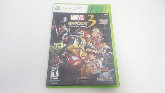 Marvel Vs Capcom 3 Fate Of Two Worlds - Xbox 360 - Original