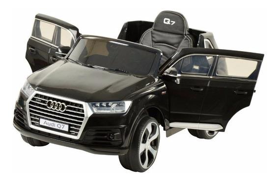 Auto A Bateria 12v Audi Q7 Infantil Con Control Remoto