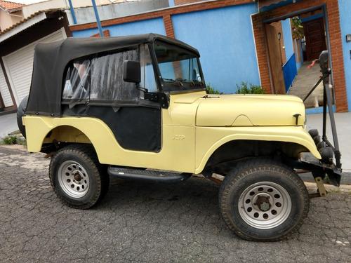 Jeep Willis 1958 Carroceria E Motor 6cc Original