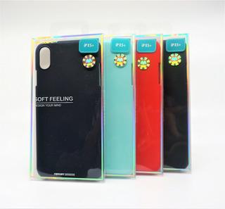 Funda iPhone XS Plus Mercury Goospery Soft Feeling