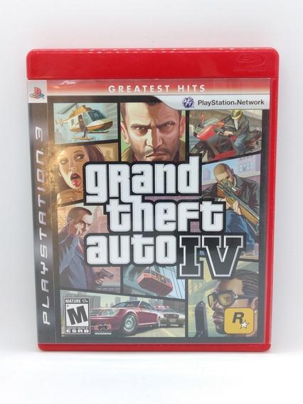 Gta 4 Grand Theft Auto Iv Ps3 Midia Fisica Jogo Game Play 3