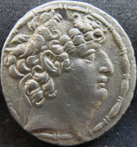 Moeda Antiga Imperio Grego Prata Tetradracma Antiochosviii