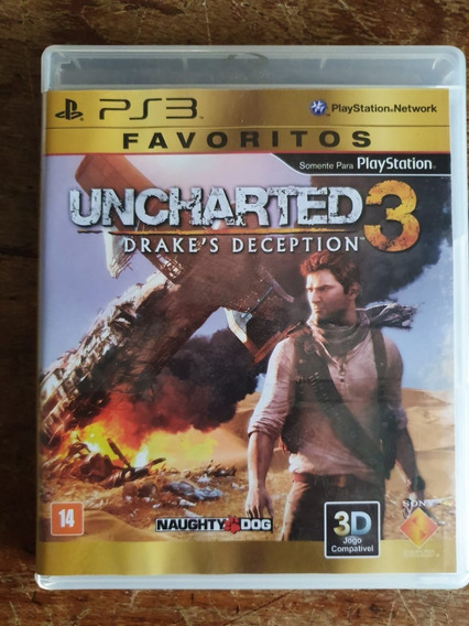 Jogo Uncharted 3 Ps3 Usado