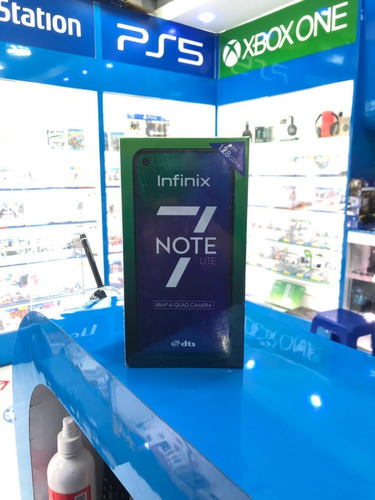 Infinix Note 7 Lite 4 Ram /128gb Nuevo + Garantía Entrega Ya