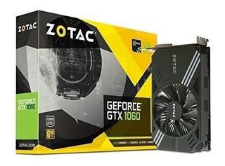 Zotac Geforce Gtx 1060 Mini, Zt-p10600a-10l, Tarjeta Gráfica
