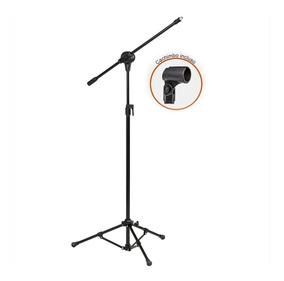 Pedestal Para Microfone Arcano Modelo Vector Com Cachimbo
