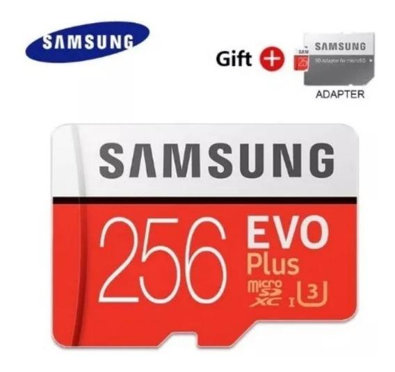 Cartão Samsung Micro Sdxc 256gb Gopro Hero 4 5 6 7