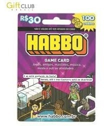 Habbo Game Card 30$