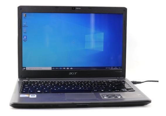 Notebook Acer Aspire 4810t Core2 Solo 2gb Ram 320gb Hd A4815