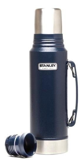 Termo Stanley Clasico 1 Litro Cebador Original Garantía Azul