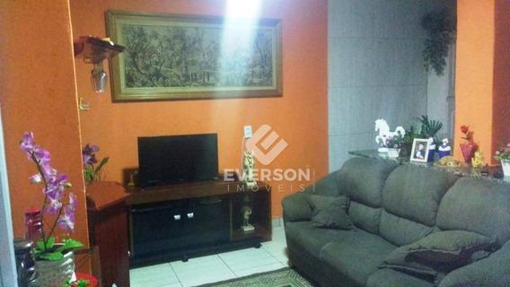 Casa À Venda, 64 M² Por R$ 180.000 - Jardim Progresso Ii - Rio Claro/sp - Ca0980