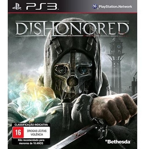 Dishonored - Midia Fisica - Ps3 - Novo E Lacrado