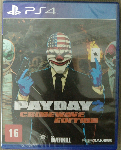 Payday 2 Ps4 Português Lacrado!!!
