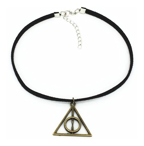 Choker Reliquias De La Muerte, Collar Harry Potter