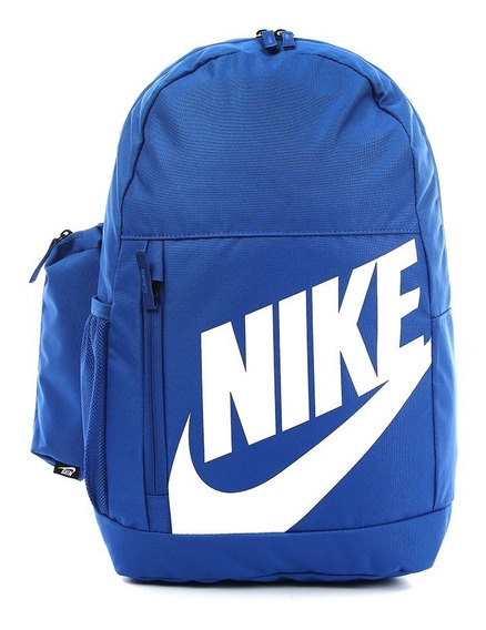 Mochila Nike Elemental Azul Importada Original Ba6030480