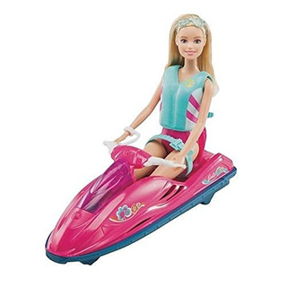 Set Lancha Y Kayak Barbie Original On-the-go