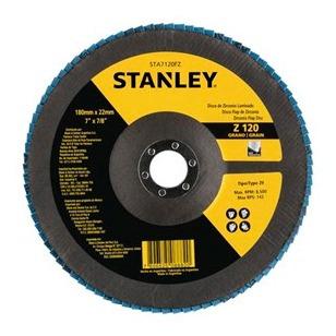 Disco Flap 7  X 7/8 Polegadas Z120 Stanley - Sta7120fz