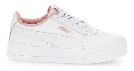 Zapatillas Puma Moda Carina L Ps Niña Bl/bl