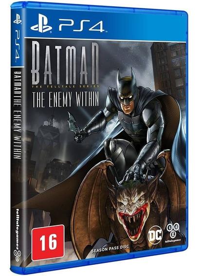 Batman Enemy Within Ps4 Lacrado